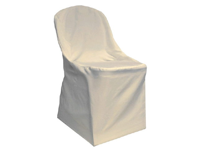 Where to find CHAIR COVER,  Folding   Ivory in Fairview Heights