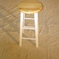Where to find BAR STOOL, White Natural Wood 29 in Fairview Heights