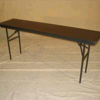 Where to find TABLE, DISPLAY 6ft x 30   42  tall in Fairview Heights