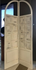 Where to rent FOLDING SCREEN - IVORY WOOD with WIRE 8 in Fairview Heights IL