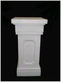 Where to find COLUMN, SQUARE 32  Tall White in Fairview Heights