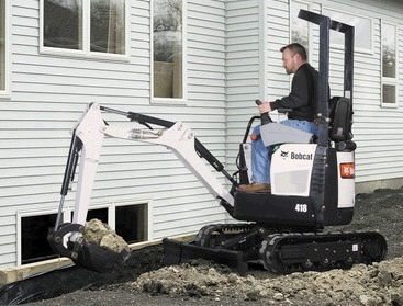 Where to find BOBCAT 418 Micro EXCAVATOR in Fairview Heights
