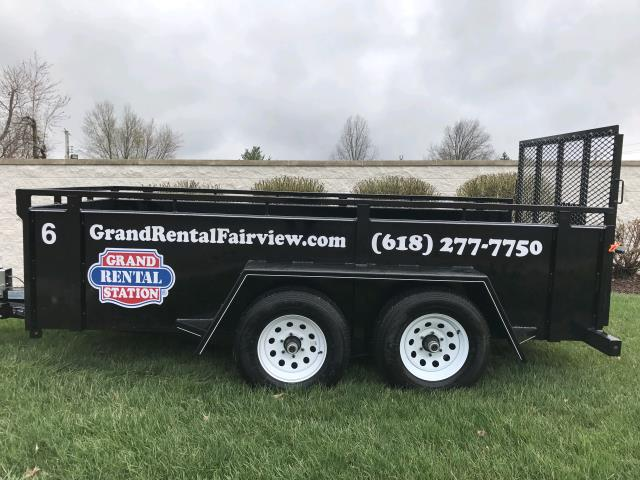 Where to find 5  x 12  BOX UTILITY TRAILER in Fairview Heights