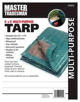 Where to find GRN BRN 6  x 8  TARP in Fairview Heights