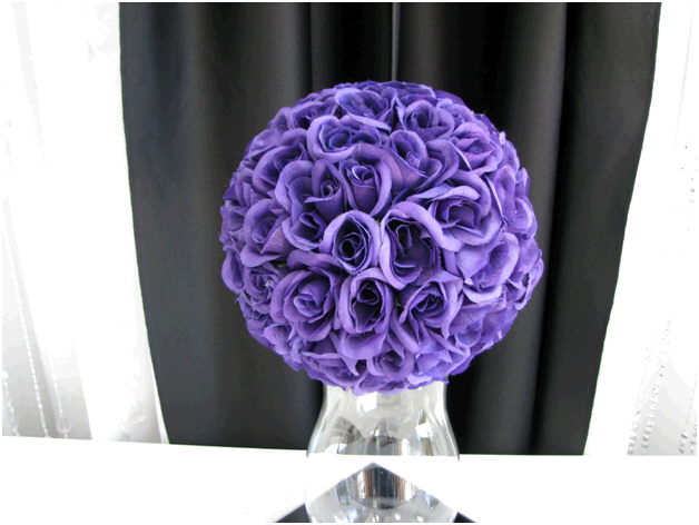 Where to find FLORAL BALL, 9  PURPLE in Fairview Heights