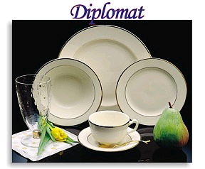 Where to find DIPLOMAT IVORY W GOLD CHINA in Fairview Heights