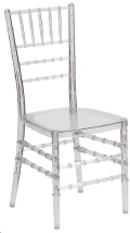 Where to rent CHIAVARI CHAIR - CLEAR in Fairview Heights IL