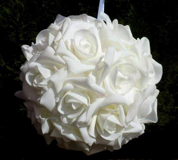 Where to find FLORAL BALL, 10  WHITE ROSE in Fairview Heights