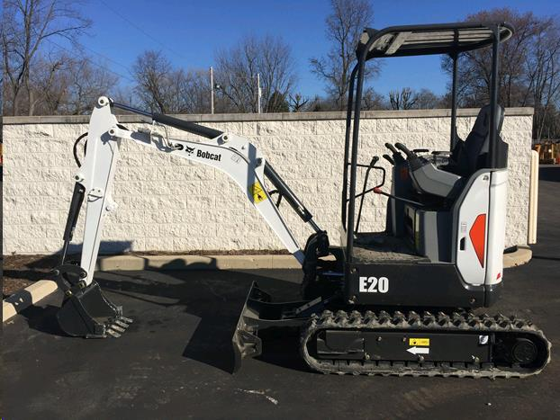 Where to find BOBCAT E20 compact EXCAVATOR in Fairview Heights