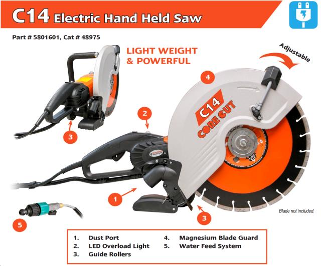 Where to find 14  ELEC. HAND HELD SAW in Fairview Heights