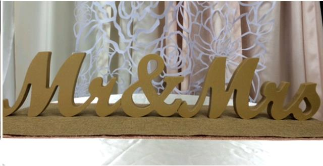 Where to find MR.   MRS. CURSIVE SCRIPT SIGN - GOLD in Fairview Heights