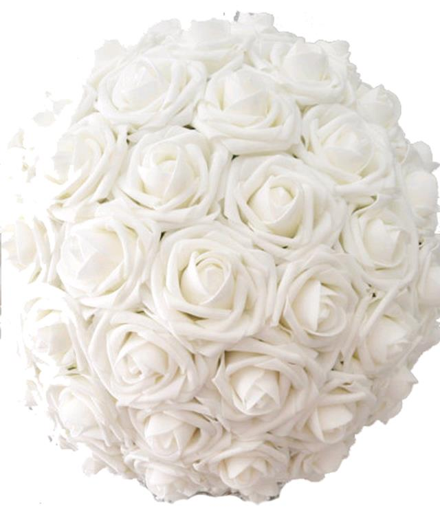 Where to find FLORAL BALL, 13  WHITE ROSE in Fairview Heights